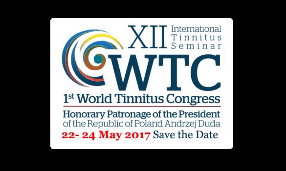 XII Międzynarodowe Seminarium Szumów Usznych–International Tinnitus Seminar orazIŚwiatowy Kongres Szumów Usznych –World Tinnitus Congress