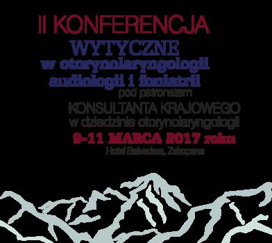 II Konferencja Naukowa pt. Wytyczne w otorynolaryngologii, audiologii i foniatrii – relacja video