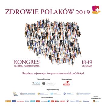 """Zapraszamy na I Kongres """"Zdrowie Polaków 2019"""""""