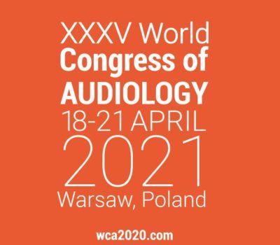 XXXV World Congress of Audiology – new date